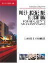 Florida Post-Licensing Education for Real Estate Sales Associates - Edward J. O'Donnell, David S. Coleman