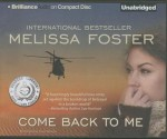 Come Back to Me (Audiocd) - Melissa Foster