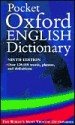 Pocket Oxford English Dictionary - Oxford University Press, F.G. Fowler, H.W. Fowler