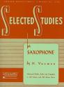 Selected Studies: Saxophone (Rubank Educational Library) - H. Voxman