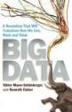 Big Data: A Revolution That Will Transform How We Live, Work and Think - Viktor Mayer-Schönberger, Kenneth Cukier