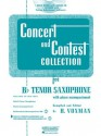 Concert and Contest Collection for Bb Tenor Sax - Book/CD Pack - H. Voxman