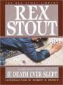 If Death Ever Slept (Audio) - Rex Stout, Michael Prichard