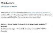 Wikihistory - Desmond Warzel