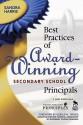 Best Practices of Award-Winning Secondary School Principals - Sandra K. Harris, Gerald Tirozzi
