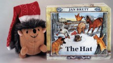 The Hat board book - Jan Brett