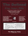 The Defined King James Bible - Anonymous