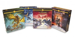 The Heroes of Olympus Books 1-4 CD Audiobook Bundle: Book One: The Lost Hero; Book Two: The Son of Neptune; Book Three: The Mark of Athena; Book Four: The House of Hades - Rick Riordan
