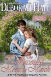 The Viscount Meets His Match: A Sweet Traditional Regency Novella (Glass Slipper Brides Book 6) - Deborah Hale