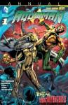 Aquaman (2011- ) Annual #1 - John Ostrander, Geraldo Borges, Netho Diaz