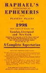 Raphael's Astronomical Ephemeris of the Planets for 1998 - Foulsham Books