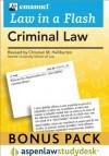 Law in a Flash: Criminal Law 2010 Studydesk Bonus Pack (Flash Card and Access Card Bundle) - Steven L. Emanuel