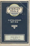 Stanley Tools 1929 Catalog Reprint - Ross Bolton