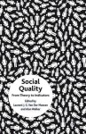 Social Quality: From Theory to Indicators - Alan Walker, Alan Walker