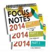 Wiley CIA Focus Notes 2014: Complete Set - S. Rao Vallabhaneni