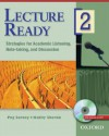 Lecture Ready 2 Student Book with DVD: Strategies for Academic Listening, Note-taking, and Discussion (Lecture Ready Series) - Peg Sarosy, Kathy Sherak