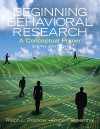 Beginning Behavioral Research: A Conceptual Primer- (Value Pack W/Mysearchlab) - Ralph L. Rosnow, Robert Rosenthal