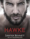 Hawke: A Cold Fury Hockey Novel (Carolina Cold Fury Hockey) - Sawyer Bennett