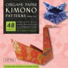 PATTERN: Origami Paper Kimono Patterns Small 6 3/4 - NOT A BOOK