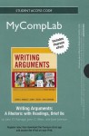 New Mycomplab with Pearson Etext -- Standalone Access Card -- For Writing Arguments, Brief Edition: A Rhetoric with Readings - John D. Ramage, John C. Bean, June C. Johnson