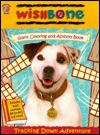 Wishbone Giant Coloring and Activity Book Tracking Down Adventure - Honey Bear Books