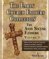 Early Church Fathers - Ante Nicene Fathers Volume 7-Fathers of the Third and Fourth Centuries: Lactantius, Venantius, Asterius, Victorinus, Dionysius, Apostolic Teaching and Constitutions, Homily, and Liturgies - Philip Schaff
