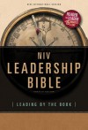 Leadership Bible-NIV: Leading by the Book - Sid Buzzell, Bill Perkins, Kenneth D Boa