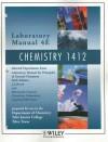 Laboratory Manual 4E: Chemistry 1412 - Jo Allan Beran