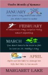 Twelve Months of Romance (January, February, March, April) (Twelve Months of Romance Boxed Set) - Margaret Lake