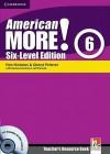 American More! Six-Level Edition Level 6 Teacher's Resource Book with Testbuilder CD-ROM/Audio CD - Rob Nicholas, Cheryl Pelteret, Herbert Puchta