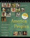 America and Its Peoples: A Mosaic in the Making, Volume 1, Study Edition (5th Edition) - James Kirby Martin, Randy Roberts