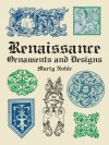 Renaissance Ornaments and Designs (Dover Pictorial Archive) - Marty Noble