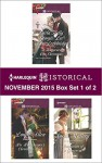 Harlequin Historical November 2015 - Box Set 1 of 2: Christmas Eve ProposalThe Viscount's Christmas KissWallflower, Widow...Wife!His Housekeeper's Christmas WishTemptation of a Governess - Carla Kelly, Georgie Lee, Ann Lethbridge, Louise Allen, Sarah Mallory