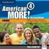 American More! Six-Level Edition Level 4 Class Audio CD - Herbert Puchta, Jeff Stranks, Günter Gerngross