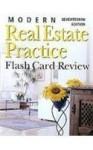 Modern Real Estate Practice Flashcards - Fillmore Galaty, Wellington J. Allaway, Robert C. Kyle