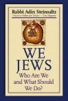We Jews: Who Are We and What Should We Do - Adin Steinsaltz, Yehuda Hanegbi, Rebecca Toueg