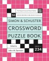 Simon and Schuster Crossword Puzzle Book #234: The Original Crossword Puzzle Publisher - John M. Samson