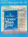 Closer Than Ever (Vocal Selections): Piano/Vocal - Richard Maltby, David Shire, Sy Feldman