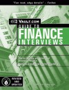 The Vault.com Guide to Finance Interviews: VaultReports.com Guide to Finance Interviews - Vault.Com Inc, H.S. Hamadeh