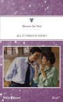 Mills & Boon : All It Takes Is Family (Silver Creek County) - Sharon De Vita