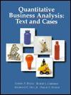 Quantitative Business Analysis: Text and Cases - Samuel Bodily, Phillip E. Pfeifer, Samuel Bodily