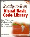Ready-To-Run Visual Basic(r) Code Library: Tips, Tricks, and Workarounds for Better Programming [With *] - Rod Stephens