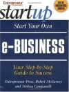 Start Your Own E-Business - Robert McGarvey, Melissa Campanelli