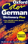 Oxford Color German Dictionary Plus - Oxford University Press, Roswitha Morris