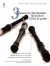 Music Minus One Alto Recorder: Telemann & Handel Three Sonatas For Alto Recorder, Harpsichord & Viola Da Gamba (Book & Cd) - Music Minus One