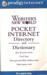 Webster's New World Pocket Internet Directory and Dictionary - Bryan Pfaffenberger