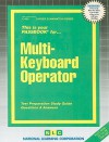 Multi-Keyboard Operator: Test Preparation Study Guide, Questions & Answers - National Learning Corporation