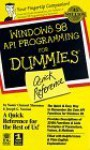 Windows 98 API Programming for Dummies Quick Reference - Namir Clement Shammas, IDG Books Worldwide, Joseph G. Noonan
