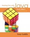 Starting Out with Java: Early Objects (3rd Edition) - Tony Gaddis
