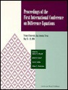 Proceedings of the First International Conference on Difference Equations - Raymond Bonnett, Saber Elaydi, John R. Graef, G. Ladas